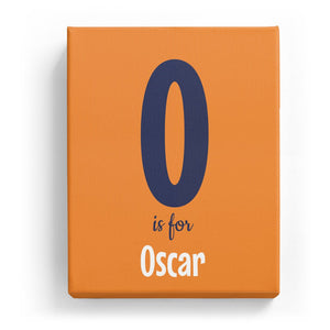 O is for Oscar - Cartoony