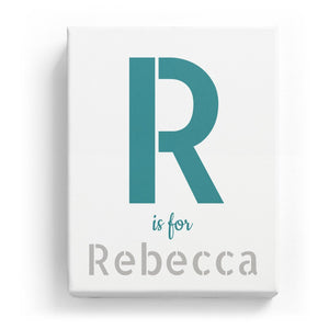 R is for Rebecca - Stylistic