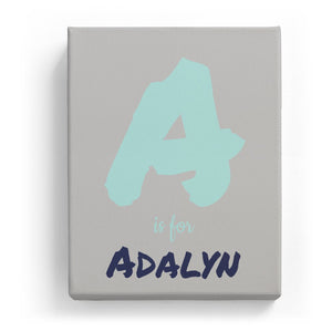 A is for Adalyn - Artistic