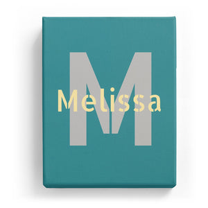 Melissa Overlaid on M - Stylistic