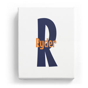 Ryder Overlaid on R - Cartoony