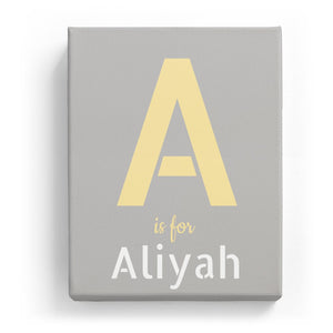 A is for Aliyah - Stylistic