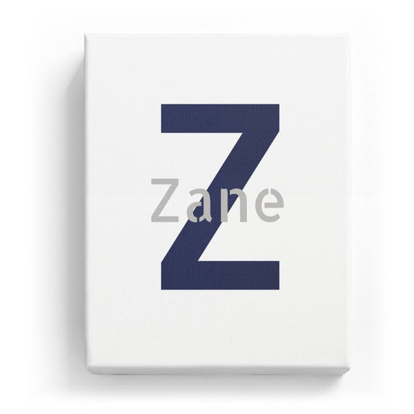 Zane Overlaid on Z - Stylistic