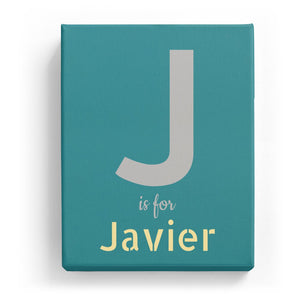 J is for Javier - Stylistic