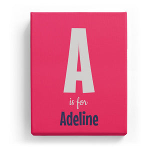 A is for Adeline - Cartoony