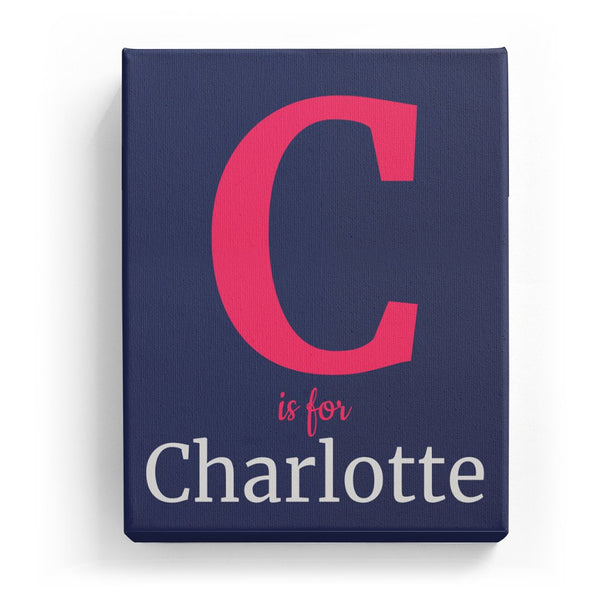 C is for Charlotte - Classic