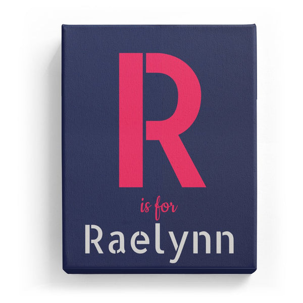 R is for Raelynn - Stylistic