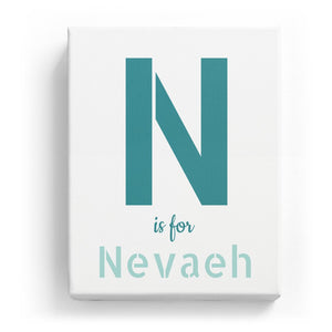 N is for Nevaeh - Stylistic