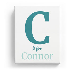 C is for Connor - Classic