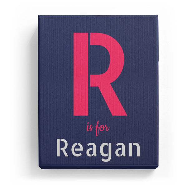 R is for Reagan - Stylistic