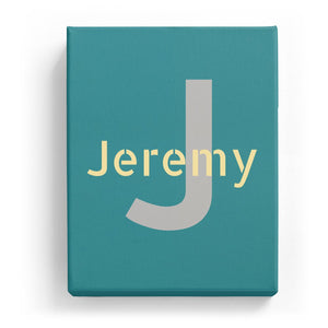 Jeremy Overlaid on J - Stylistic