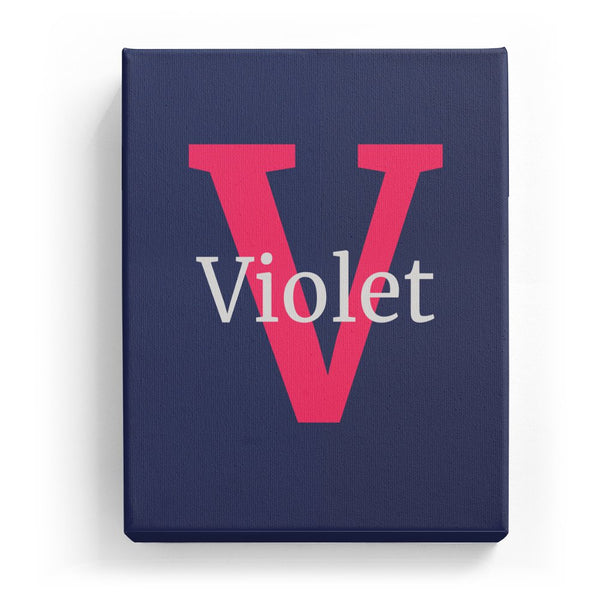 Violet Overlaid on V - Classic