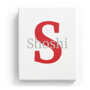 Shoshi Overlaid on S - Classic