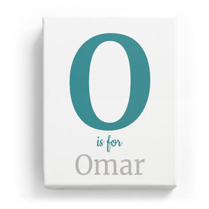 O is for Omar - Classic