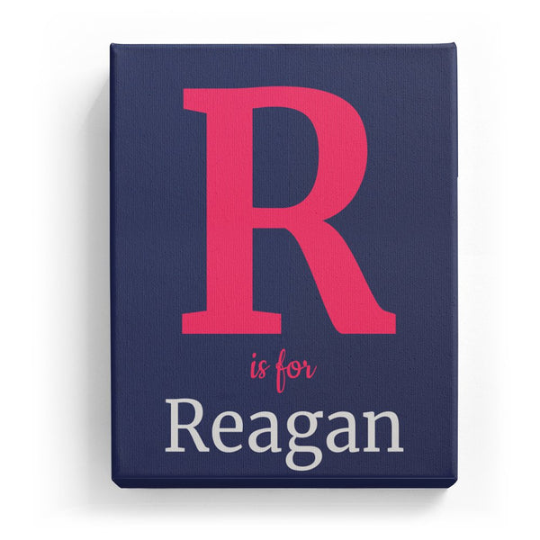 R is for Reagan - Classic