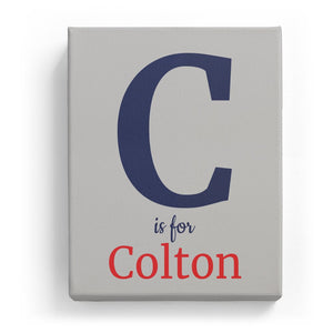 C is for Colton - Classic