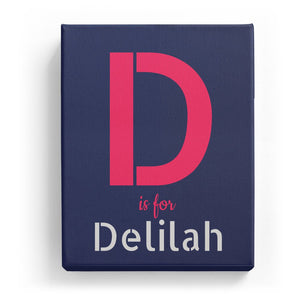 D is for Delilah - Stylistic
