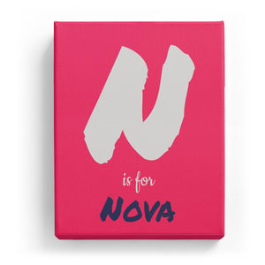 N is for Nova - Artistic