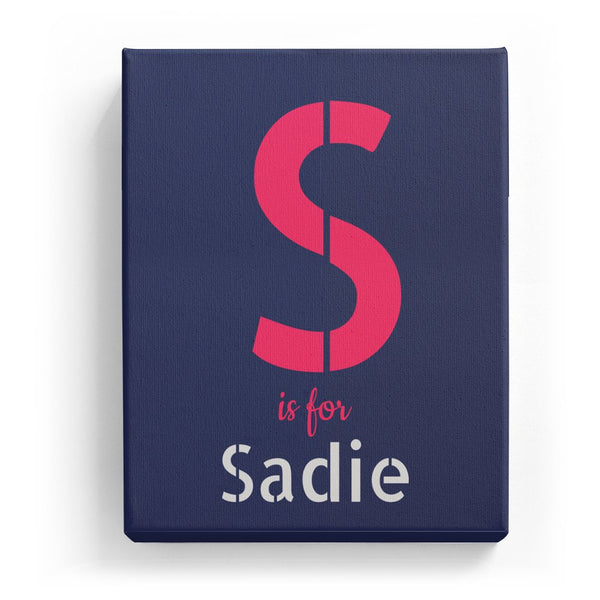 S is for Sadie - Stylistic