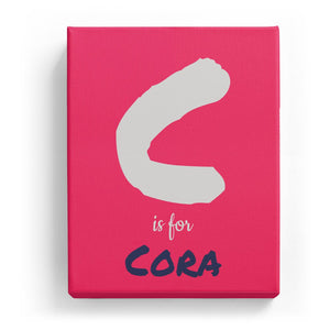 C is for Cora - Artistic