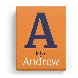 A is for Andrew - Classic