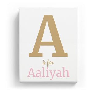 A is for Aaliyah - Classic