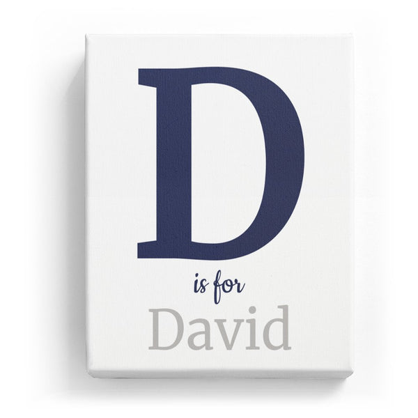 D is for David - Classic