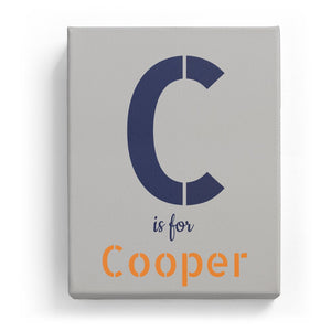 C is for Cooper - Stylistic