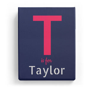 T is for Taylor - Stylistic