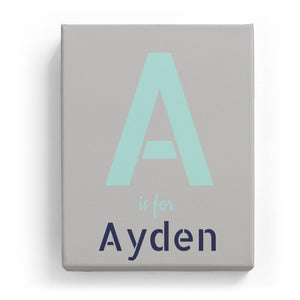 A is for Ayden - Stylistic