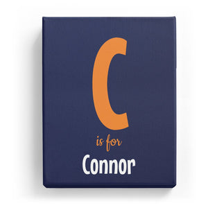 C is for Connor - Cartoony
