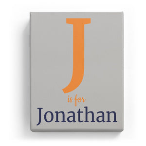 J is for Jonathan - Classic
