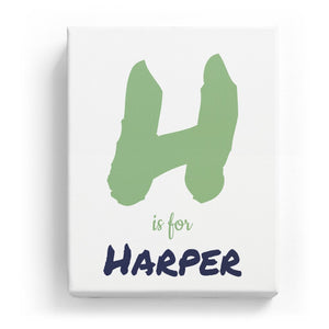 H is for Harper - Artistic