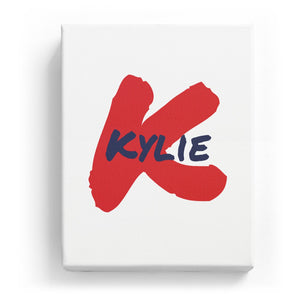 Kylie Overlaid on K - Artistic