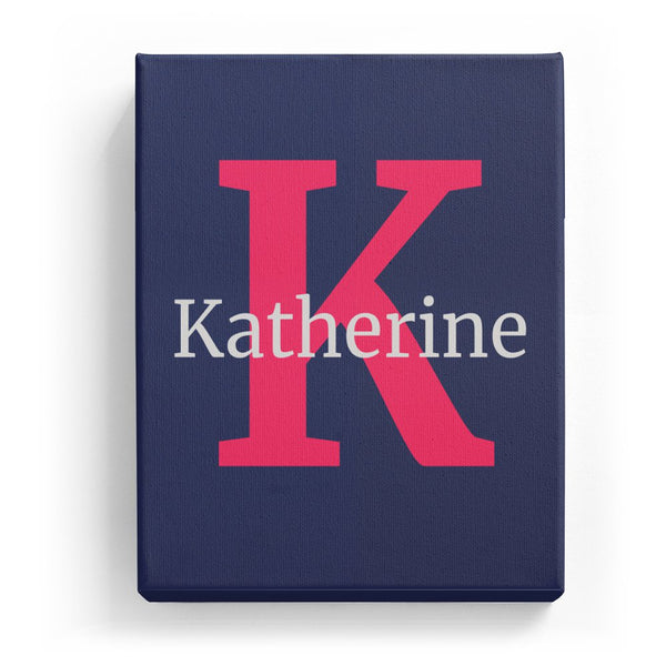 Katherine Overlaid on K - Classic