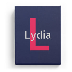 Lydia Overlaid on L - Stylistic