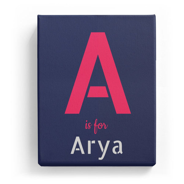 A is for Arya - Stylistic