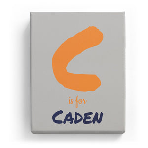 C is for Caden - Artistic