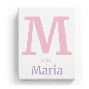 M is for Maria - Classic