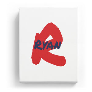 Ryan Overlaid on R - Artistic