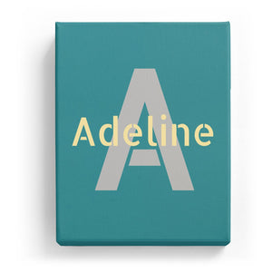 Adeline Overlaid on A - Stylistic