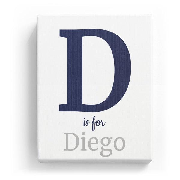 D is for Diego - Classic