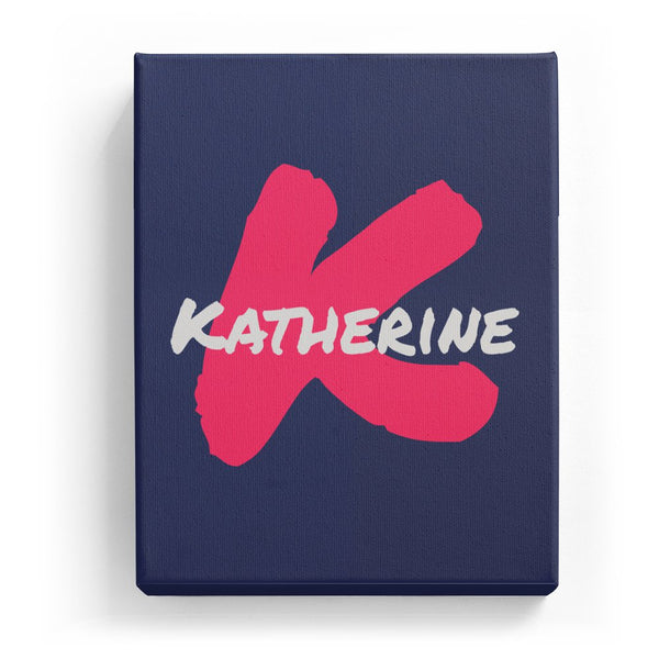 Katherine Overlaid on K - Artistic
