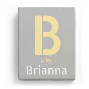 B is for Brianna - Stylistic