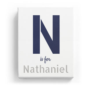N is for Nathaniel - Stylistic