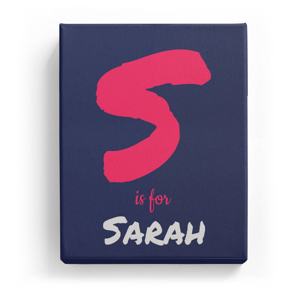 S is for Sarah - Artistic