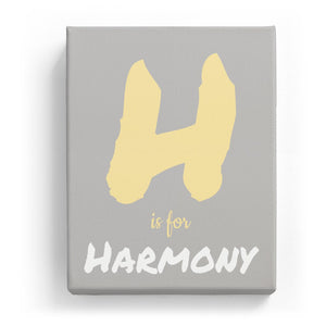 H is for Harmony - Artistic