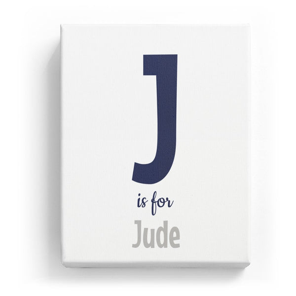 J is for Jude - Cartoony
