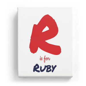 R is for Ruby - Artistic