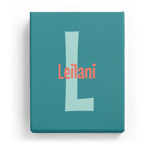 Leilani Overlaid on L - Cartoony